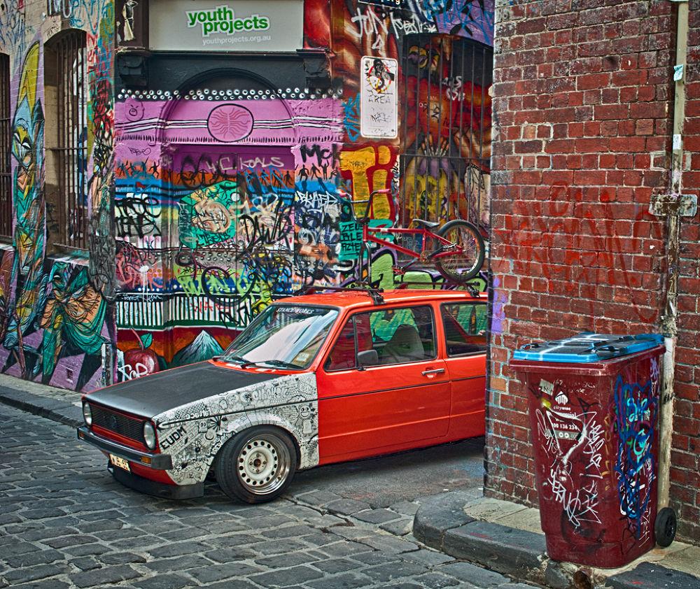 Hosier Street. Melbourne. by tcbenneyworth