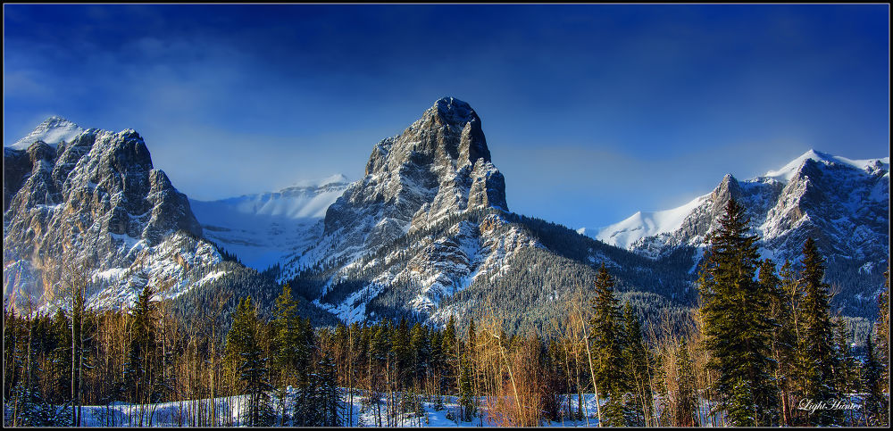 Rocky Mountains - Canmore Alberta by Zoran Dujić - LightHunter