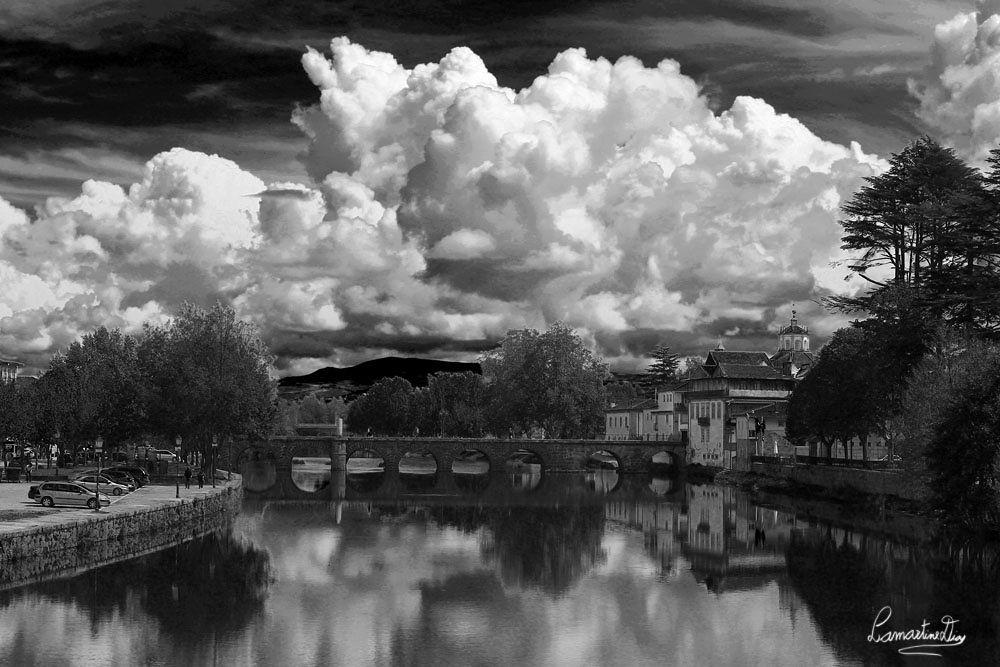 Roman Bridge Chaves by Lamartine Dias