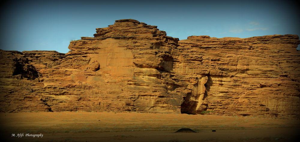 Stone wall by M. Afifi