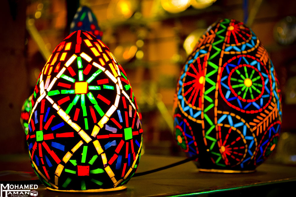 Hand made decorated Lamps by tamanm