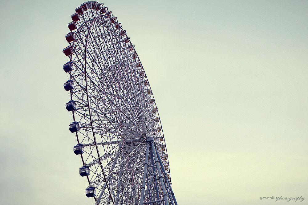 ferris wheel by EvenLiu