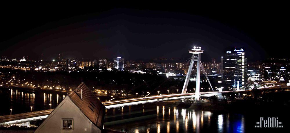 Bratislava UFO by tatusko