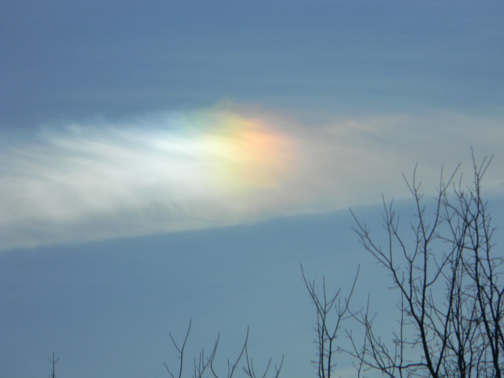 Sun dog. Wooster, OH. USA by mbbenfield