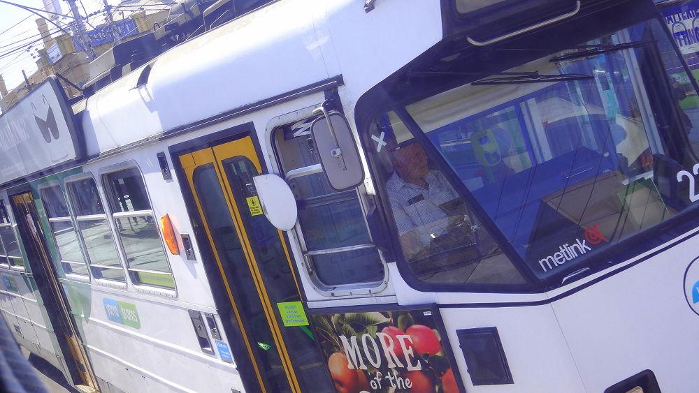 the white tram by meetaray