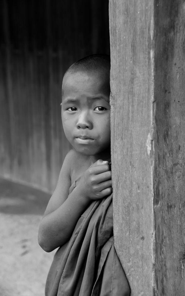 young monk by heinz homatsch