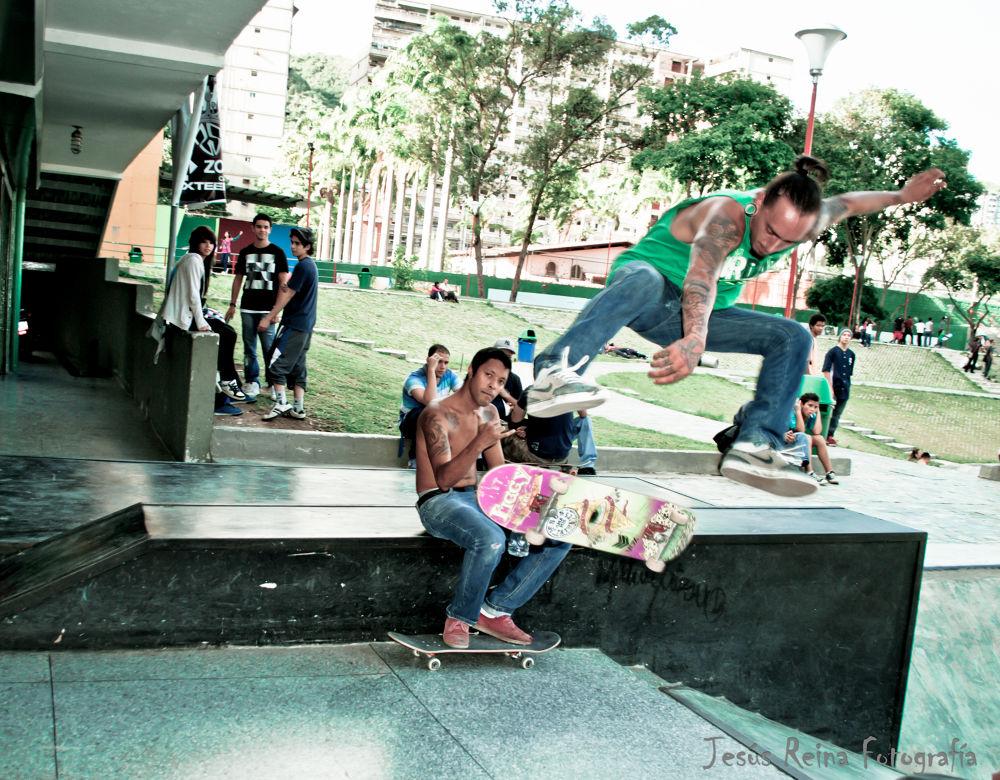 Heelflip - skater: Josue Urea. Zoopark Caricuao by jesrei