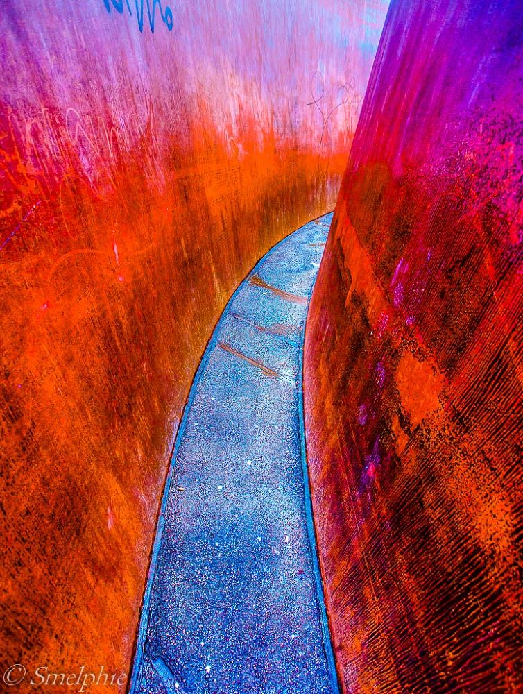 Blue path by Smelphie