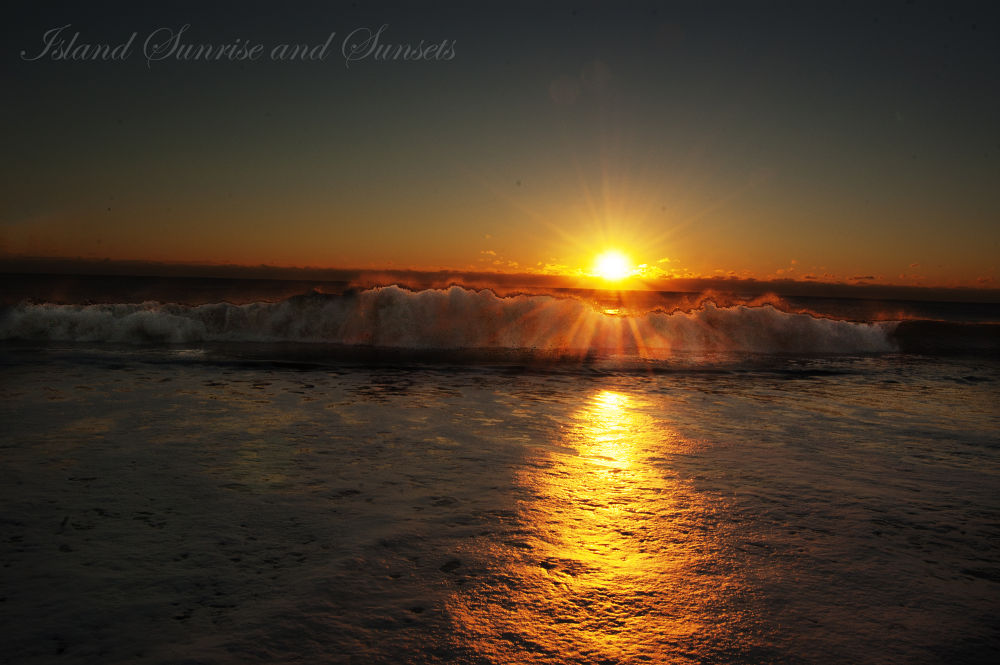 Island Sunrise and Sunsets 65 by pjorrie1