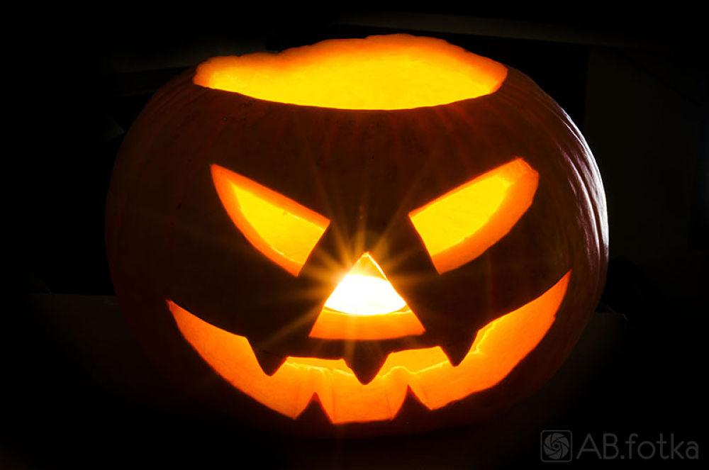 Halloween's pumpkin by Adam Budziarek