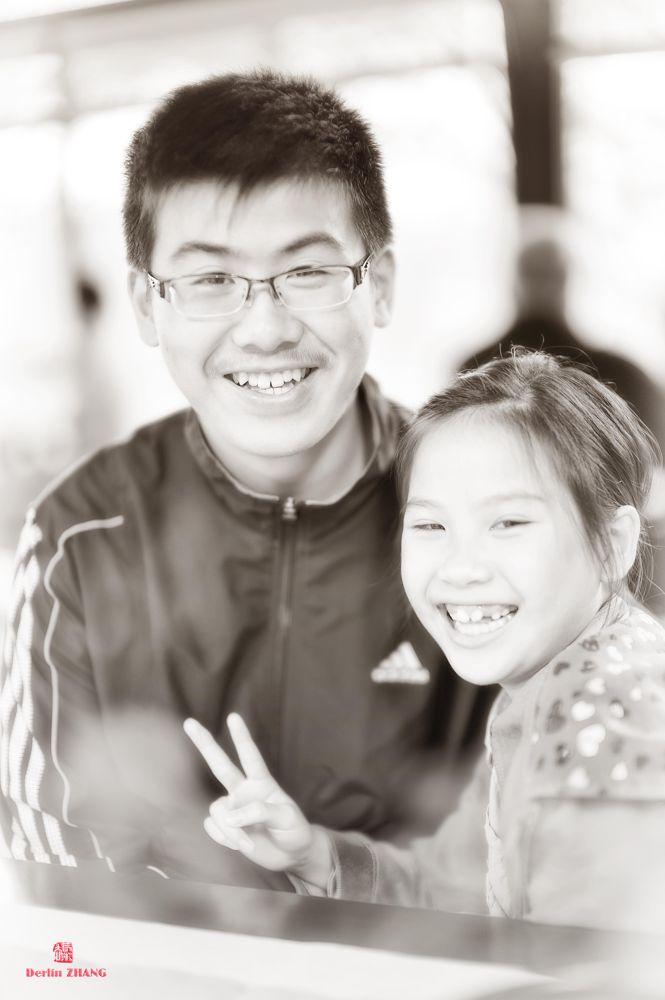 smiling... by derlinzhang