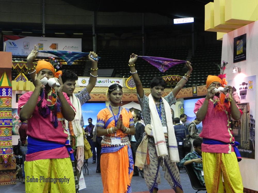 Dancing-moment by Subho Saha