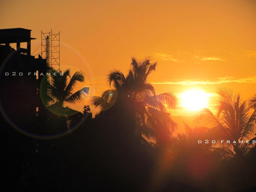 sunset city by d2oframes