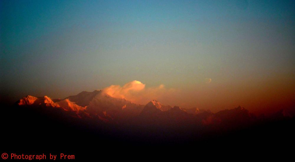 at tiger hill,Darjeeling  by premkumar