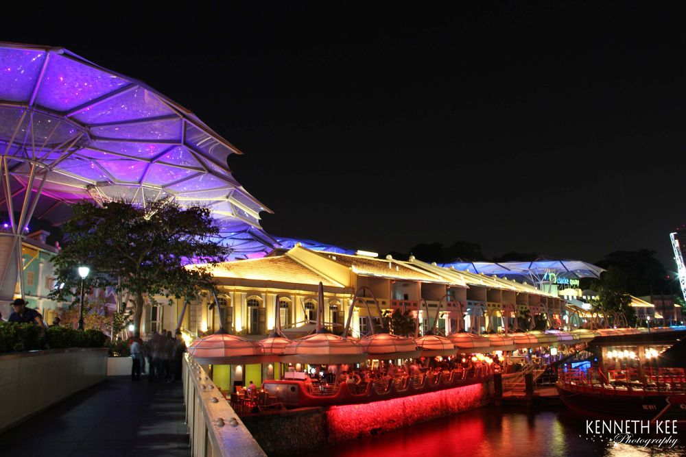 Clarke Quay Singapore by chengjun