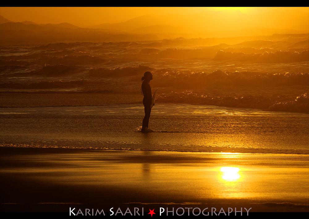The golden Surfer by fotographiste