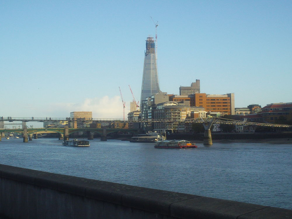 The Shard From Embankment In London by johnclipsters
