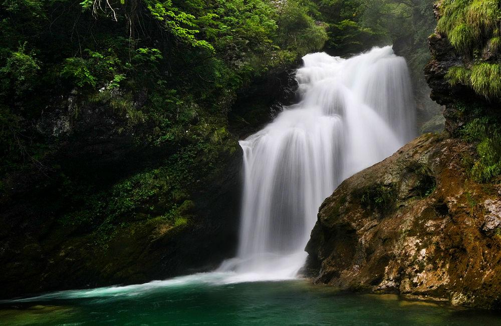 Photo in Random #water #waterfall #slovenia #bled