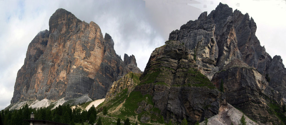 Panorama 1 Tofana di rozes by federico