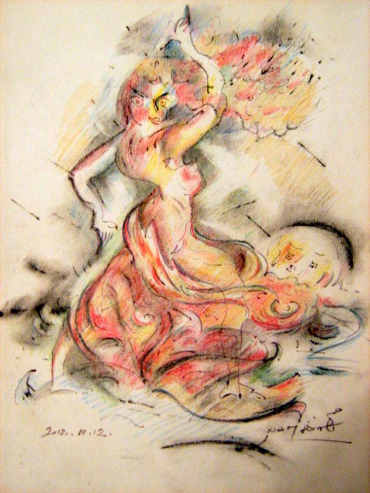 A táncosnő by NagyJozsef