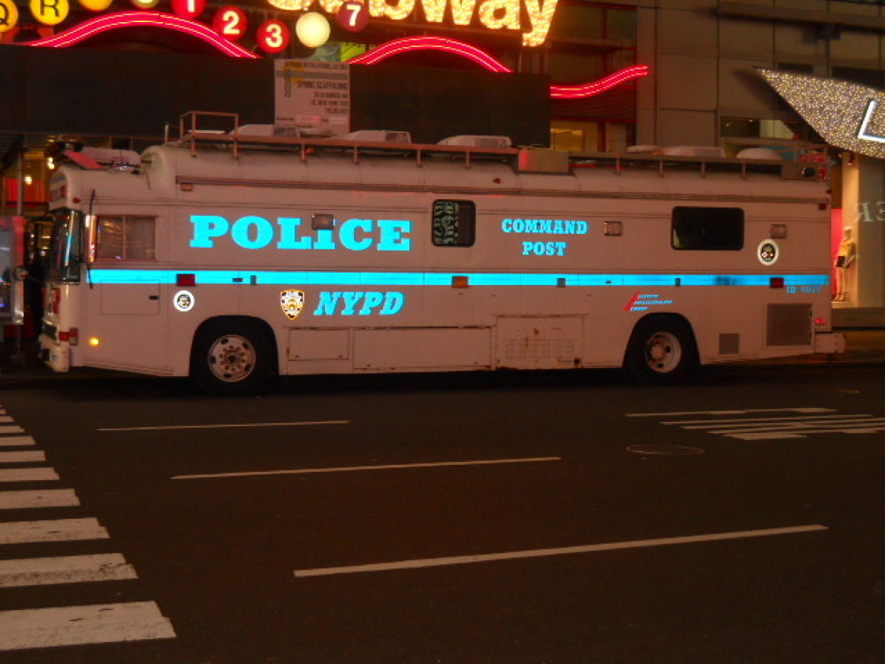 NYPD Command Post by mark12