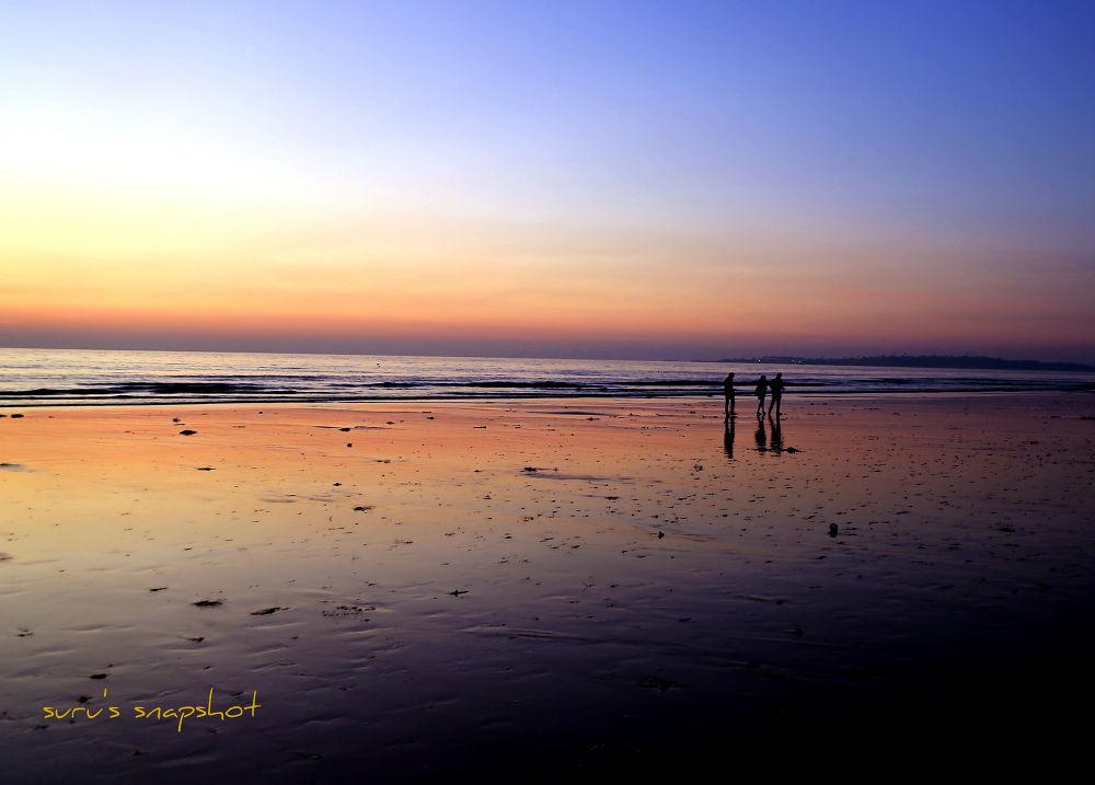juhu beach, mumbai by surunair