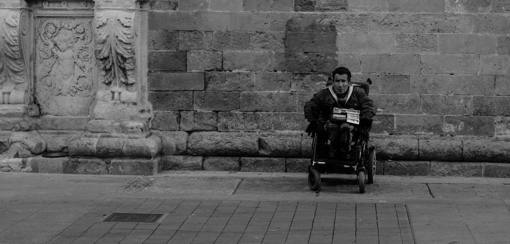 A man, alone by Chris Das