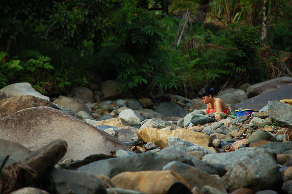 behind the rocks by Nadi