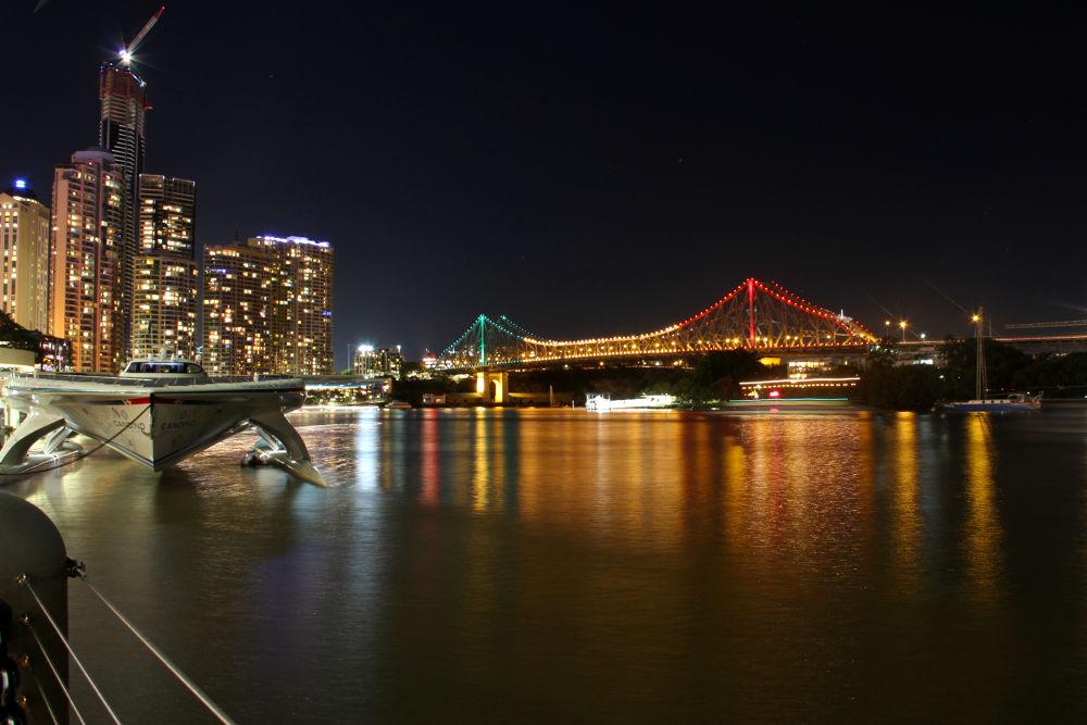Brisbane. by Tyrol
