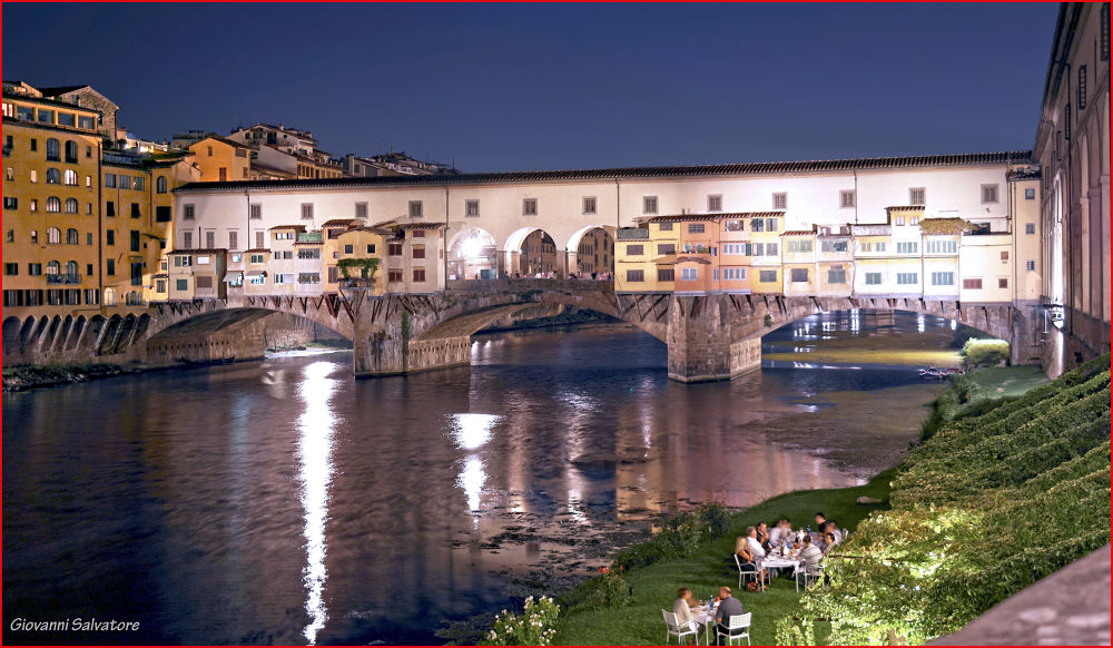 Vecchio at Dusk  (Florence, Italy) by EuroAmerican