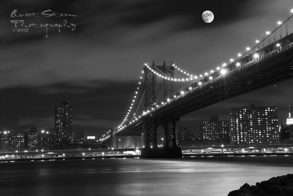 Moon Over Manhattan by quietstorm422