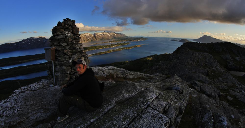 the view from reinesakselen in leirfjord, alstahaug and dønna ++ in sight by vidar mathisen