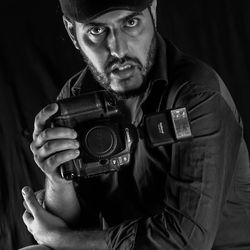 Piercing eyes photographer